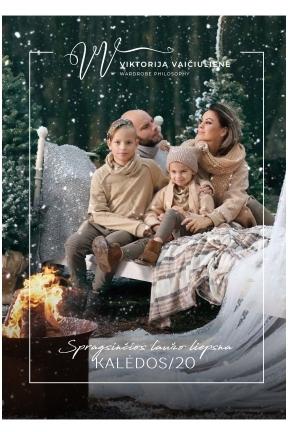 Spragsinčios laužo šviesa Kalėdos '20