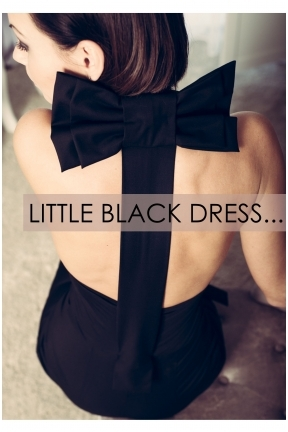LITTLE BLACK DRESS / sweet limited edition '15