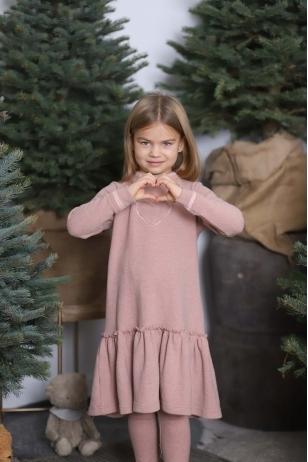 """Širdelės formos zefyras"" komplektas mergytei"