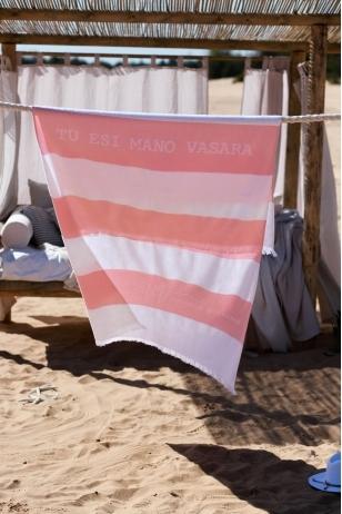 """""""Tu esi mano VASARA"""" paplūdimio rankšluostis"""