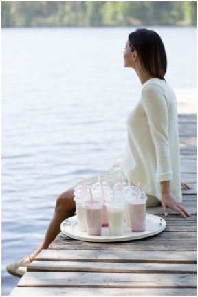 Vidurvasario milkshake'as '18